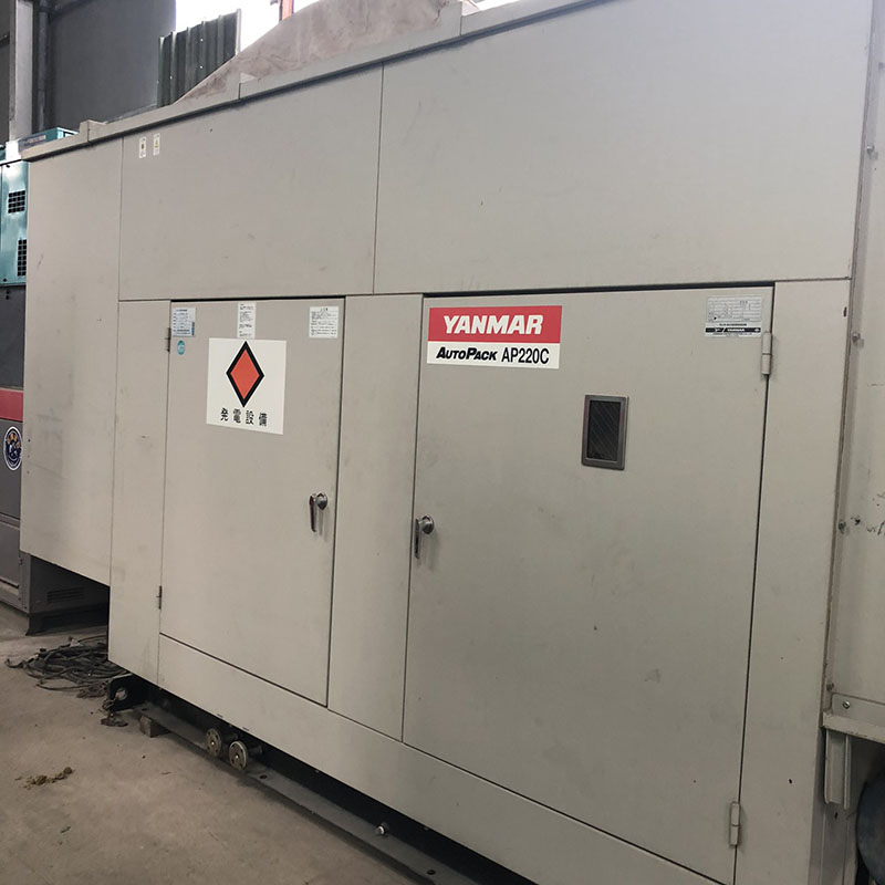 Máy phát điện Yanmar 220 kva